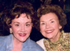 Sara O'Meara and Yvonne Fedderson