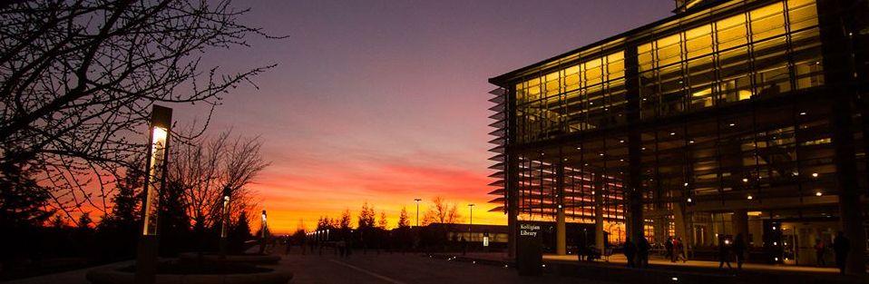 UC Merced evening landscape