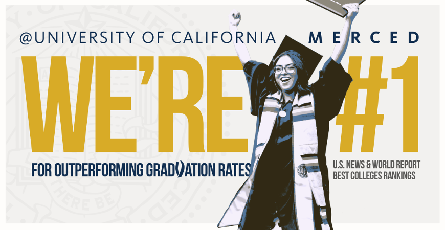 UC Merced Takes Another Giant Leap in U.S. News Rankings